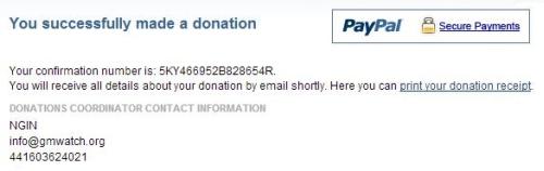GMWatch Donation