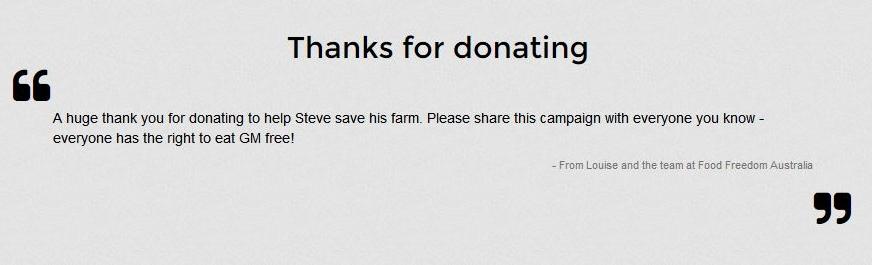 Steve Marsh Donation