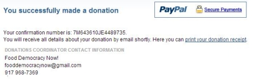 Donated to Yes on 522