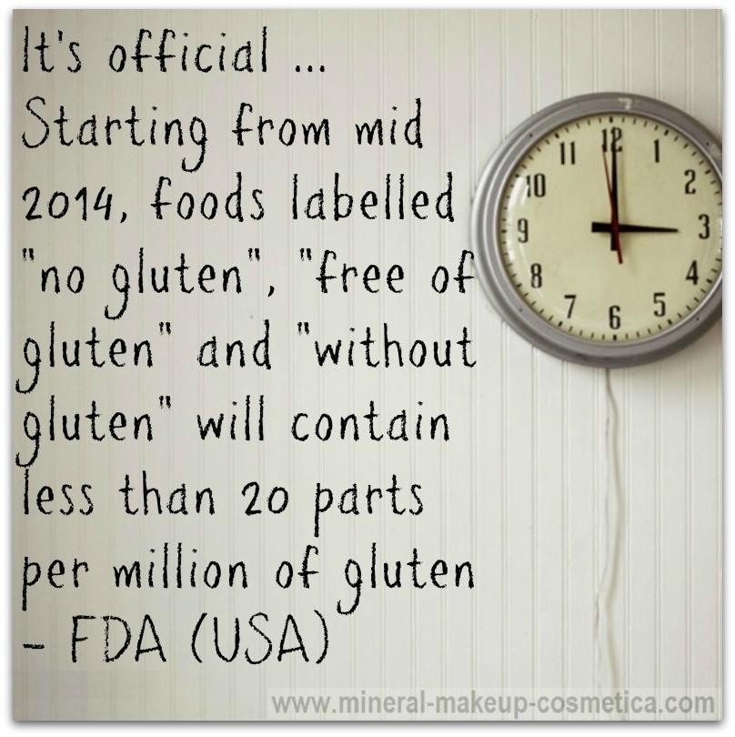 Infographic - Gluten Free Standards in USA Starting 2014