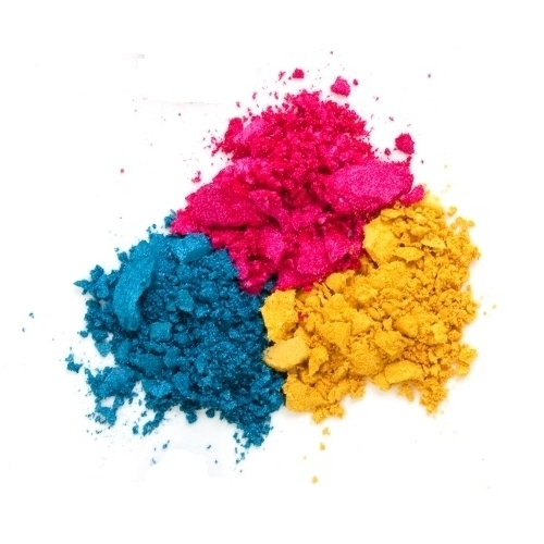 Primary Colours of Mineral Make-Up Ingredients