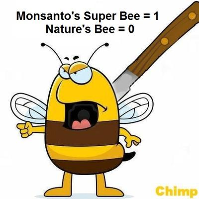 GMO Companies Want to Make a Super Bee That Will not Die from their Pesticides