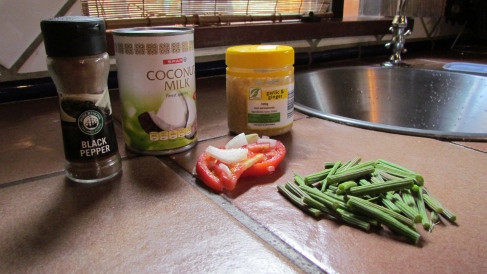 Moringa Coconut Milk Spices