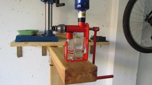 Hand Operated Moringa Seed Press