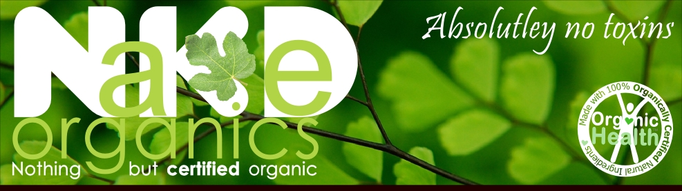 Why Naked Organics - Becasue it's Certified Organic