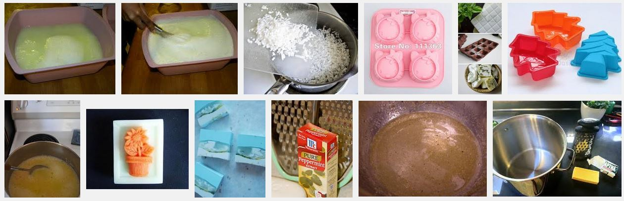 Pans and Soap Moulds