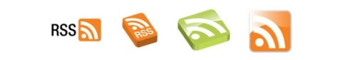 Various RSS Setup Icons
