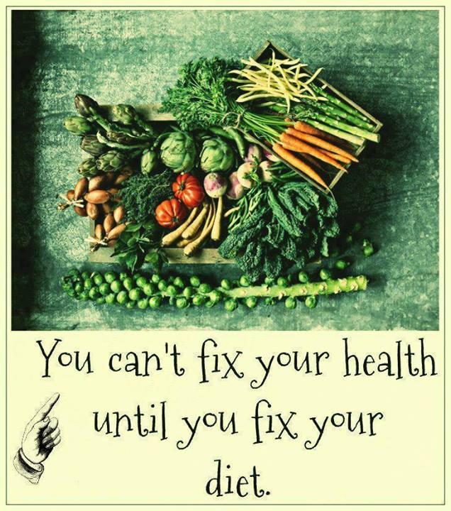 Fix Your Diet and You Will Fix Your Health