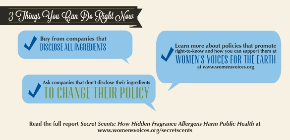 Three Things to Reduce Cosmetic Allergens