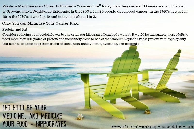 Avoid Cancer by Reducing or Eliminating your Bad Fats and Proteins