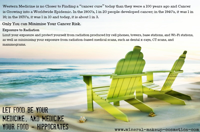 Avoid Cancer by Reducing your Exposure to RF and Radioactive Devices