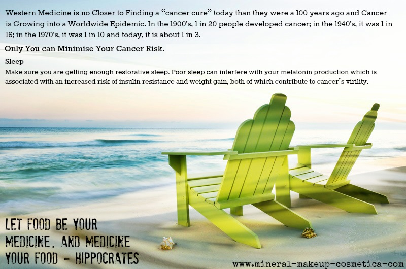Avoid Cancer by getting Enough Sleep