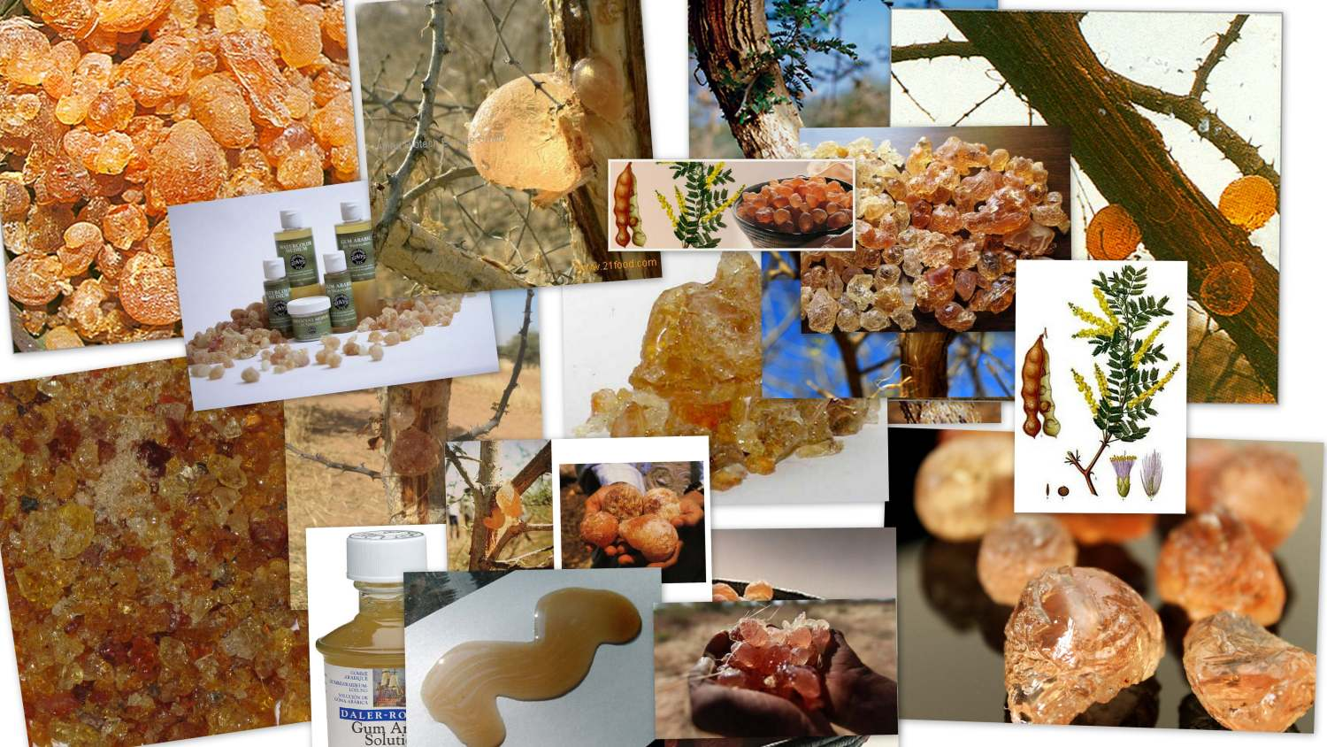 Gum Arabic Bath Oil Recipes
