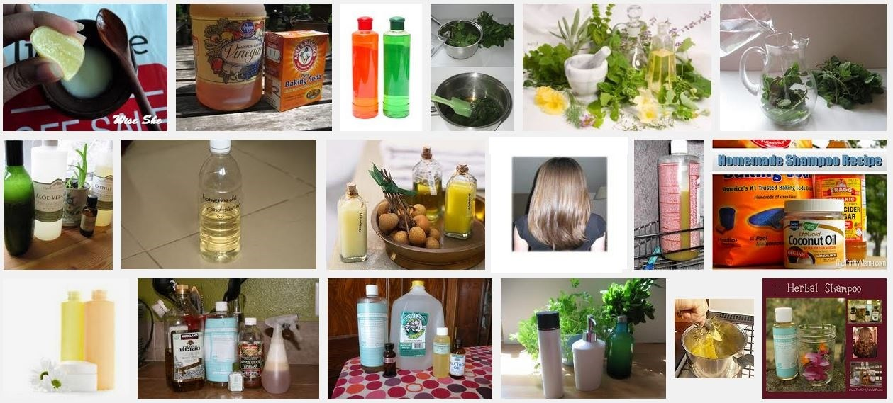 Blonde Shampoo Recipes