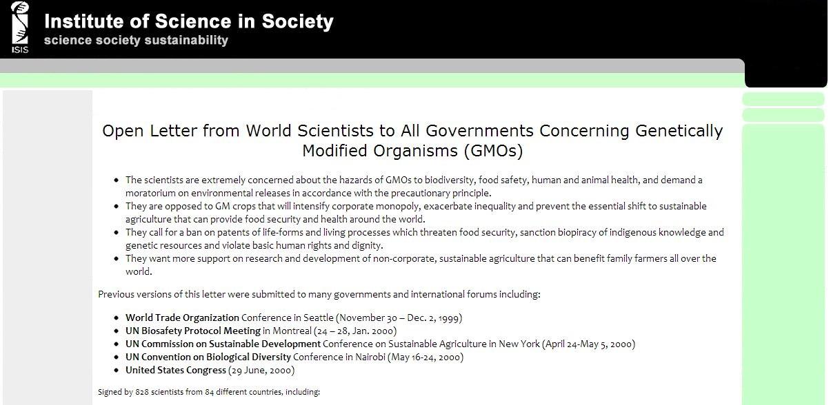Institute of Science in Society