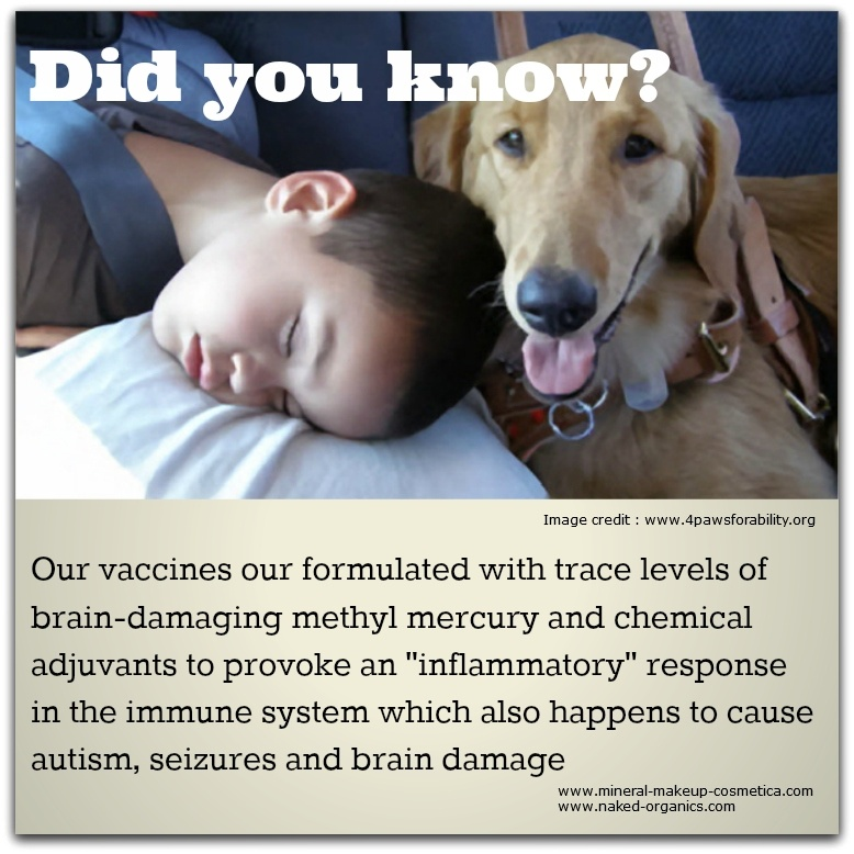 Infographic - Several Modern Day Vaccines have Serious Side Effects