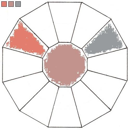 Plum Quaternary Color