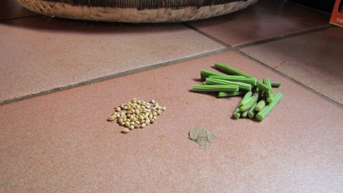Moringa Coconut Milk with Whole Coriander