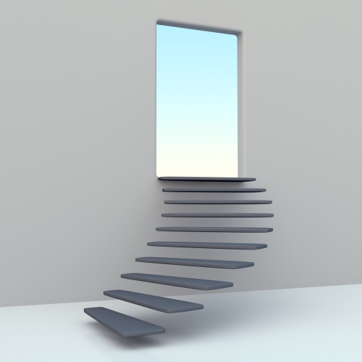 Take a step toward something you don't know