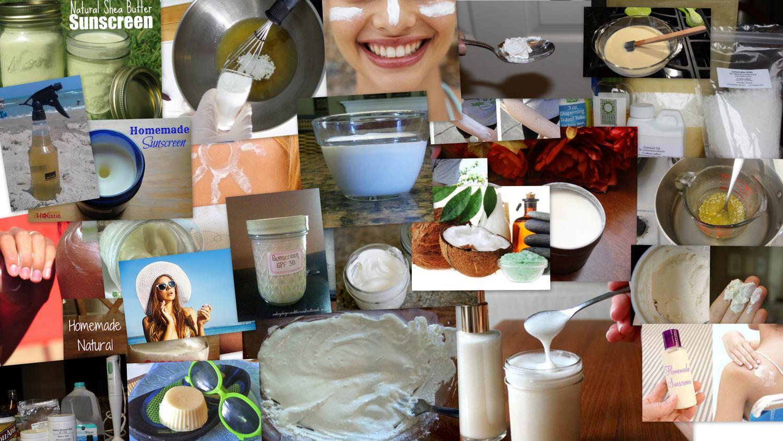 Natural Sunscreen Recipes