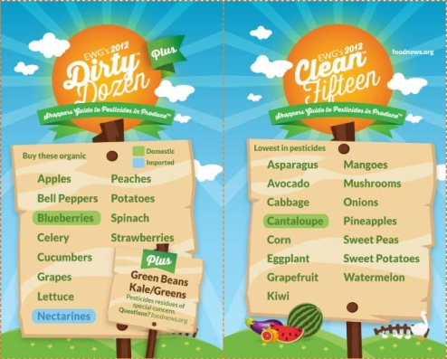 Fruit and Vegetable Guide - 2012